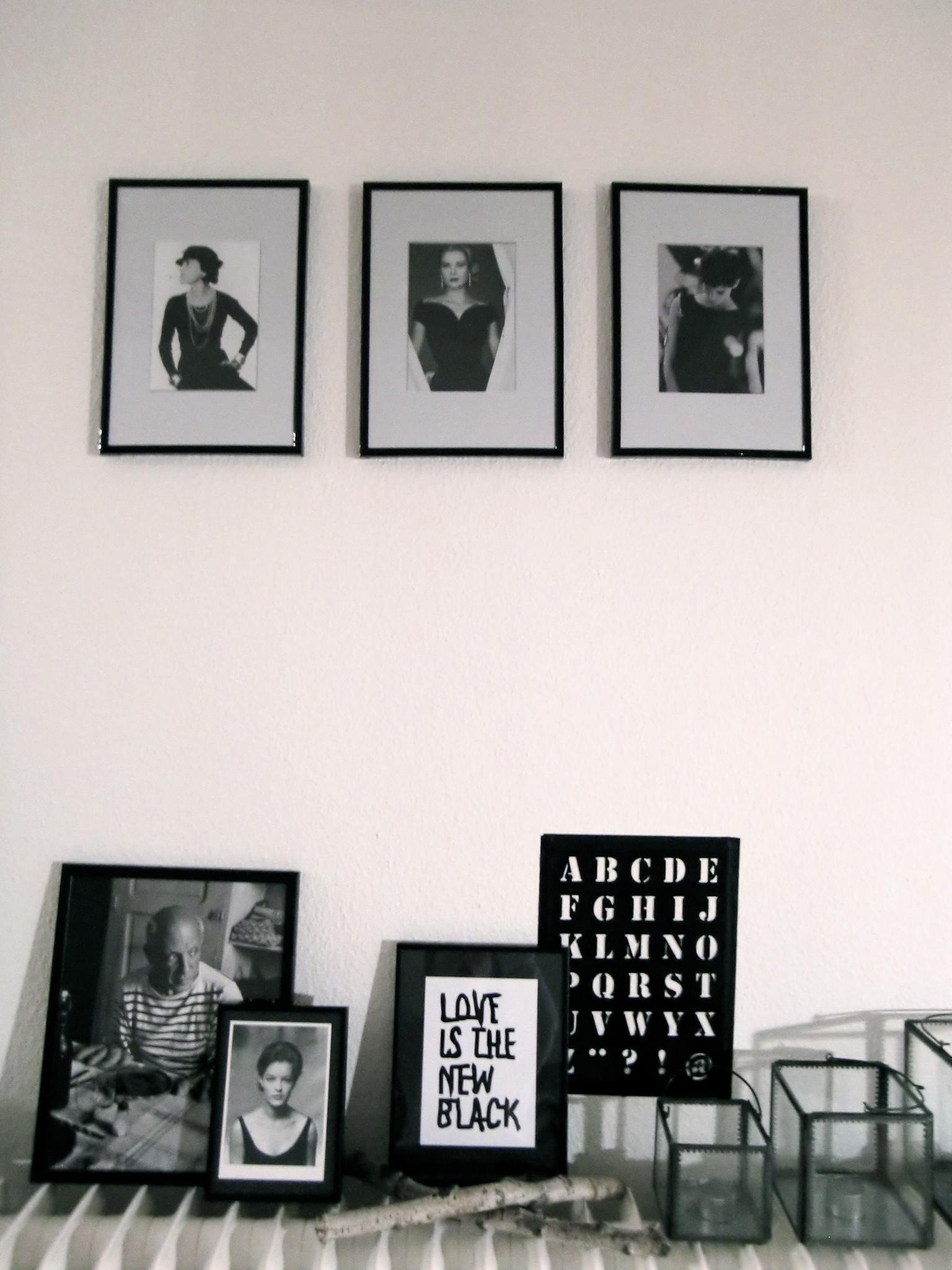 Schwarz wei deko selber machen dekoration harry potter - Schlafzimmer schwarz weiay ...